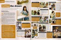 Girlfriend Magazine, June 2008
